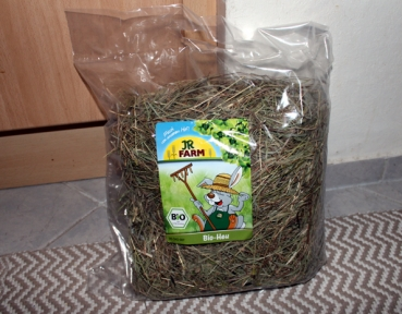 JR-Farm 100% Bio-Heu 500g Packung