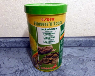 Sera Flowers and Loops 1000ml - 140g