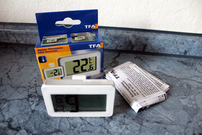 Kühlschrank Thermometer : Terratuga schildkrötenshop digitaler kühlschrankthermometer grau