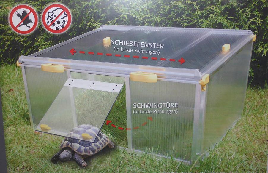 Terratuga Schildkrötenshop - JUWEL - SCHILDKRÖTENHAUS PAULA ALLTOP